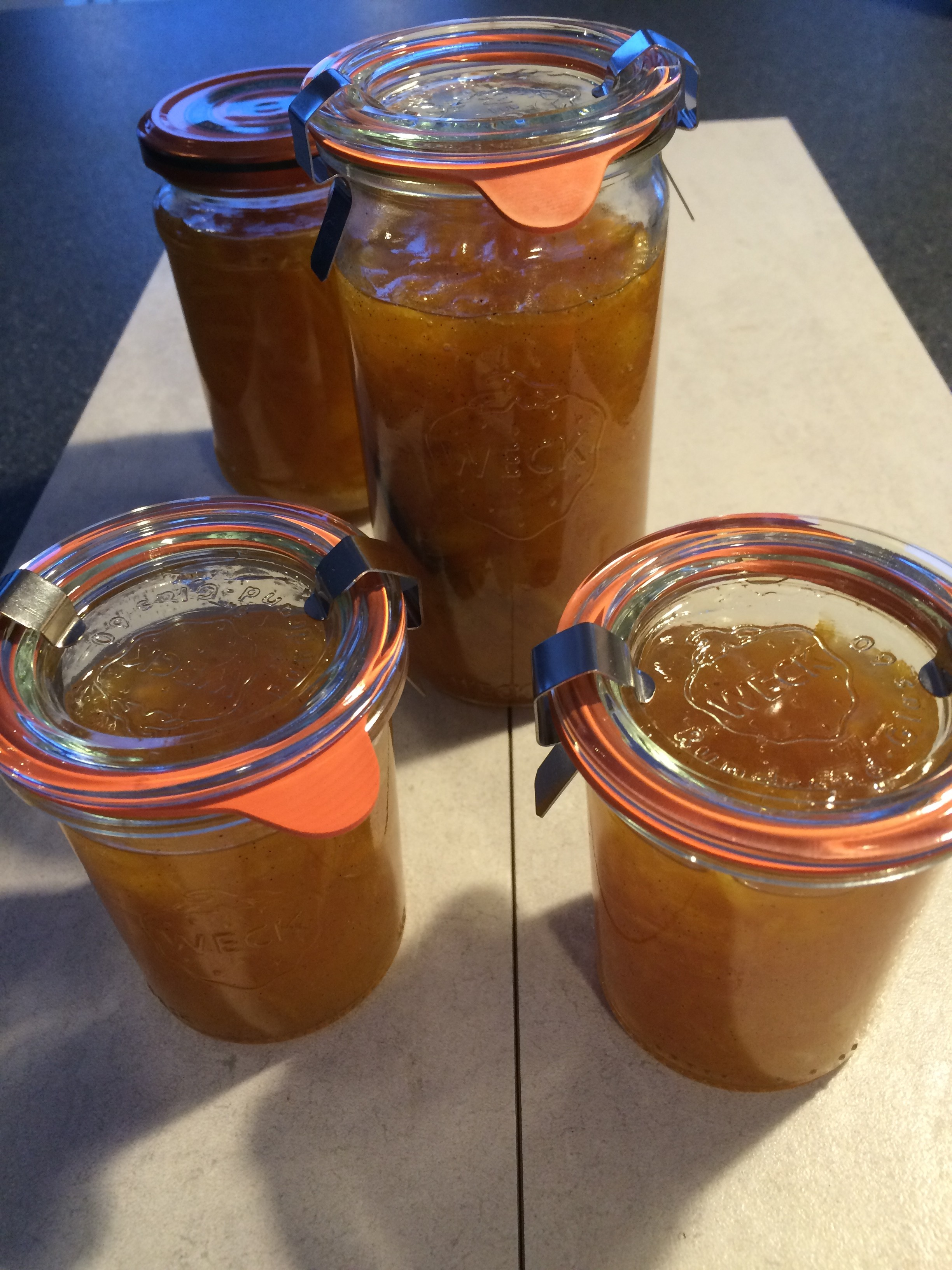 appelsinmarmelade efter MChr
